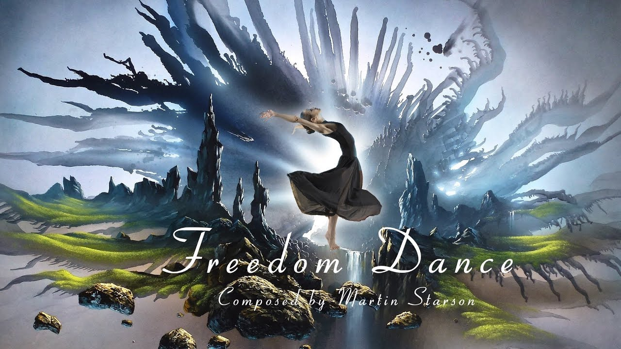 5:08 NOW PLAYING Celtic Instrumental Fantasy Music 'Freedom Dance' by Martin Starson