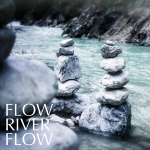 Instrumental relaxing piano music with water sounds