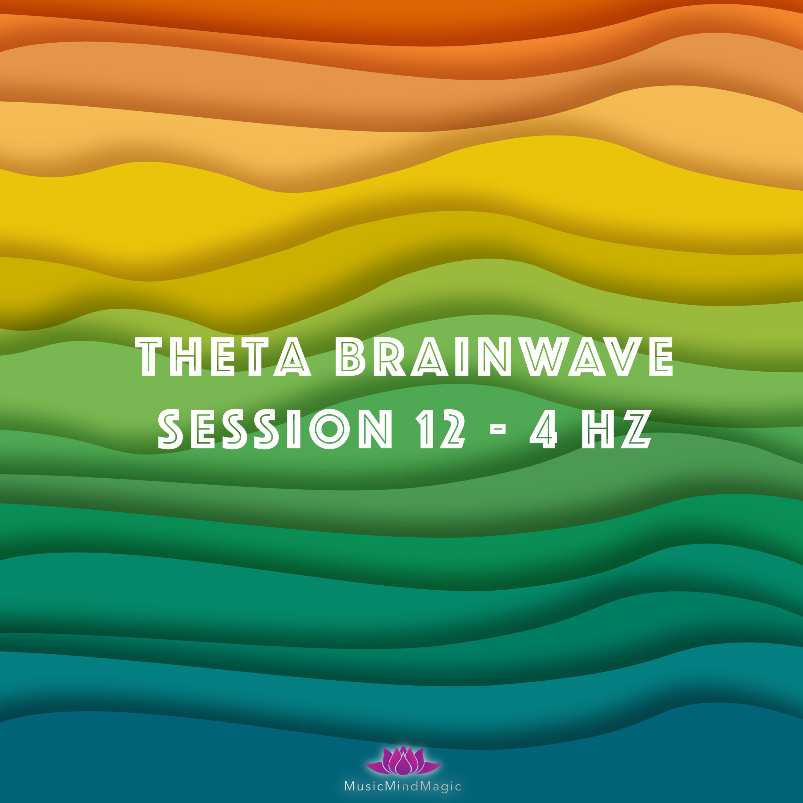 Binaural Beats Session 12hz – 4hz with White Noise