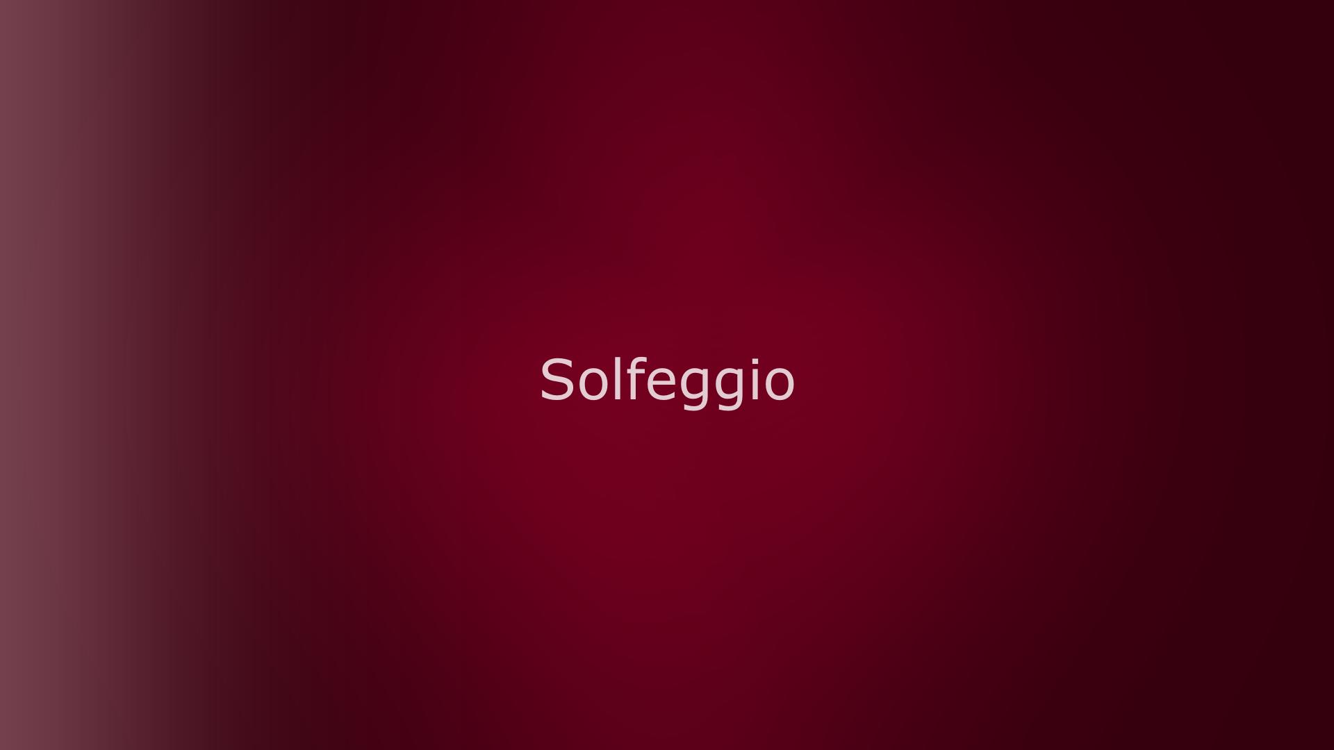 dark reddish color under solfeggio text block